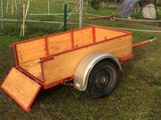 Anhänger für kleinen Oldtimer- Traktor