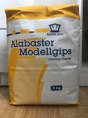 Verkaufe Alabaster Modellgips