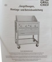 Grill Chef Landmann 12430 Gasgrillwagen