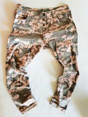 Coole Boyfriend Baggy Hose Camouflage