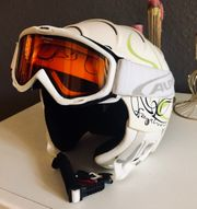 Wintex Skihelm inclusive Alpina Skibrille
