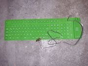 PC Tastatur LogiLink green LED