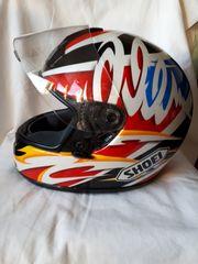 Motorradhelm Gr S
