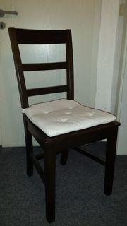 6 Stühle mit Ausziehtisch