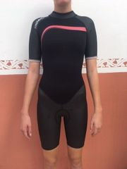 Schwimmanzug TRIBORD Neoprenanzug Shorty anthrazit