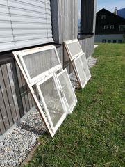 Alte Holzfenster aus Bauernhaus