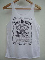 Jack Daniels Top weiß