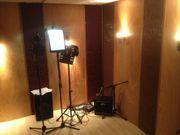 Akustikelemente Schallschutzwände für Tonstudio inkl