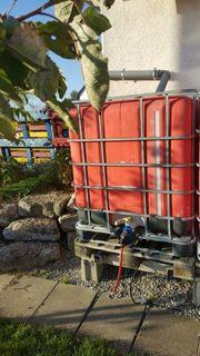 IBC container Wasserfass