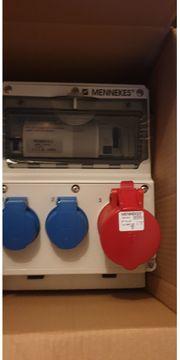 Mennekes Stromverteiler Typ 920009
