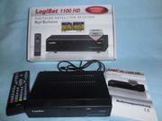 LogiSat 1100 HD Digitaler Satelliten-Receiver