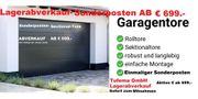 GARAGENTOR ISO-MATIC SECTIONAL FABRIKSNEU ABVERKAUF