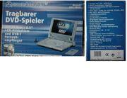 Tragbarer DVD-Spieler mit Zubehör