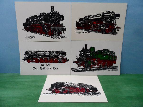 DB - Lokomotive Dampf Lok - Bilder BR