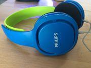 Philips Kinderkopfhörer SHK2000BL in blau
