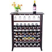 Holz Flaschenregal Weinständer 24 Flaschen
