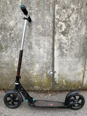 Micro Scooter BLACK 200mm zu