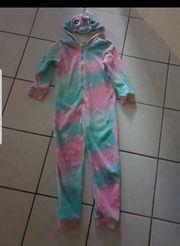 Jumpsuite overall pyjama einhorn Größe