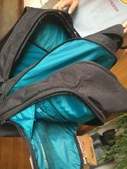 Schultasche Modell Dakine schwarz - türkis
