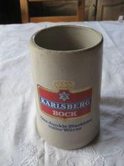 Sammler Bier Krug Karlsberg Brauerei