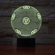 Eintracht Braunschweig LED 3D Lampe