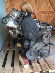 VW Motor mit Getriebe