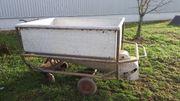 Maischewagen Wein Trauben Hühnerwagen Bauwagen