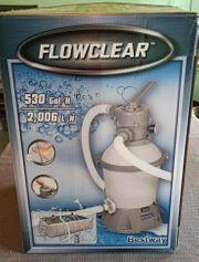 Gebrauchte Sandfilteranlage Bestway Flowclear 58397