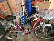 Fahrrad Damen Herren Pegasus Dunkelrot