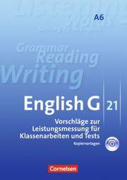 Vorschläge zur Leistungsmessung Kopiervorlagen Englisch