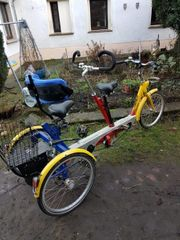 Behinderten Senioren Fahrrad Tandem