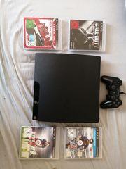 Playstation 3 neuwertig 4 spiele