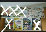 Verschiedene Nintendo Wii Spiele ab
