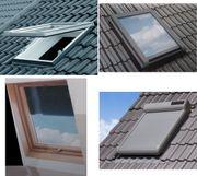 Dachfenster Wohndachfester Vollkunststoff-Dachfenster maßgefertigt aus