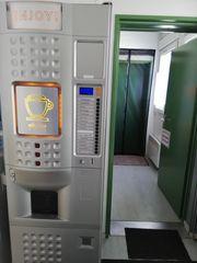Café automat incl Münzwechsler