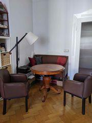 Esstisch antik mit 2er Sofa