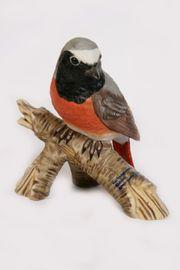 Porzellanfigur Goebel Vogel Gartenrotschwanz Porzellan