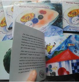 Kinder- und Jugendliteratur - Buch Maries Kuschelkissenknöpfe Kinderkunstbuch-Neuware
