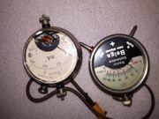 Antike Volt Amperemeter