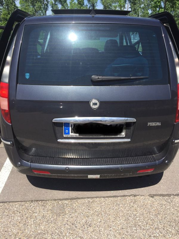 Lancia Phedra Heckklappe Eurovan 2