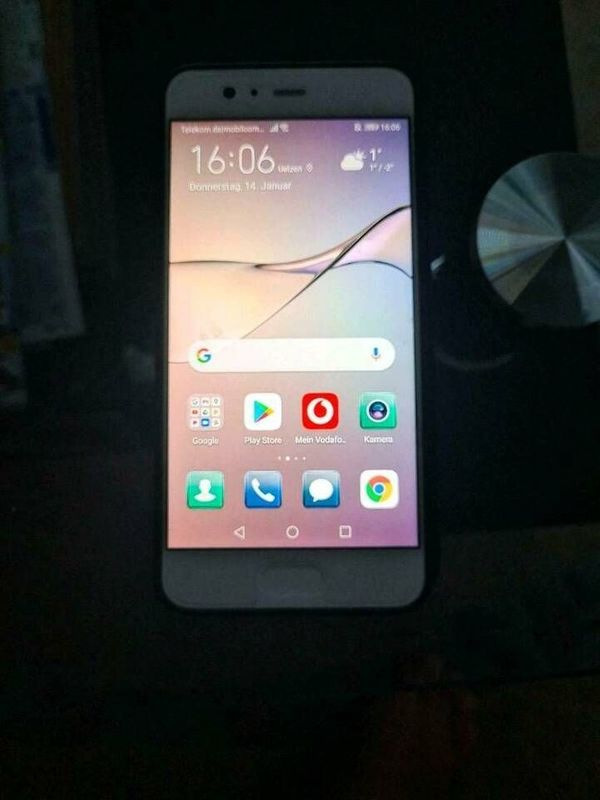 Huawei P10 Smartphone (64 GB) Mystic Silver