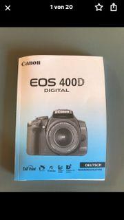 Canon EOS 400D Komplette Fotoausrüstung
