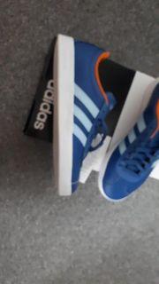 Adidas Sneaker Neu blau orange