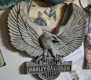 Harley Davidson Beton 3D-Bild