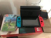 Nintendo Switch Konsole mit Spiel