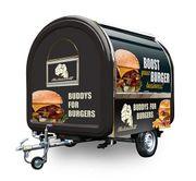 Burgerwagen Burger Verkaufsanhänger Burgermobil Foodtruck