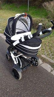 ABC Design Kombi-Kinderwagen 3-Tec inkl Tragewanne