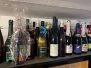 verschenke viele AlkoholFlaschen