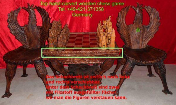 ) Top Schachspiel / CHESS zu verkaufen (