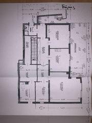 3 Zimmerwohnung 250 qm Garten